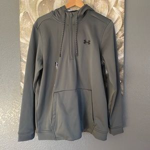 Under Armour Cold Gear Loose Fit Zip Pull Over